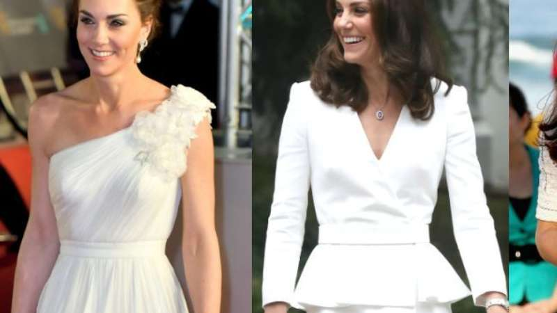 a75087e36 Plissado, vestido-blazer e floral: looks de Kate Middleton para inspirar  noivas
