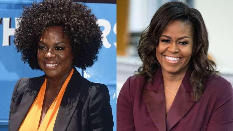 Viola Davis será Michelle Obama em série do Showtime