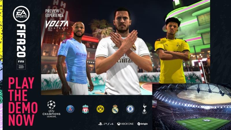 Demo do jogo Fifa 2020 já está disponível