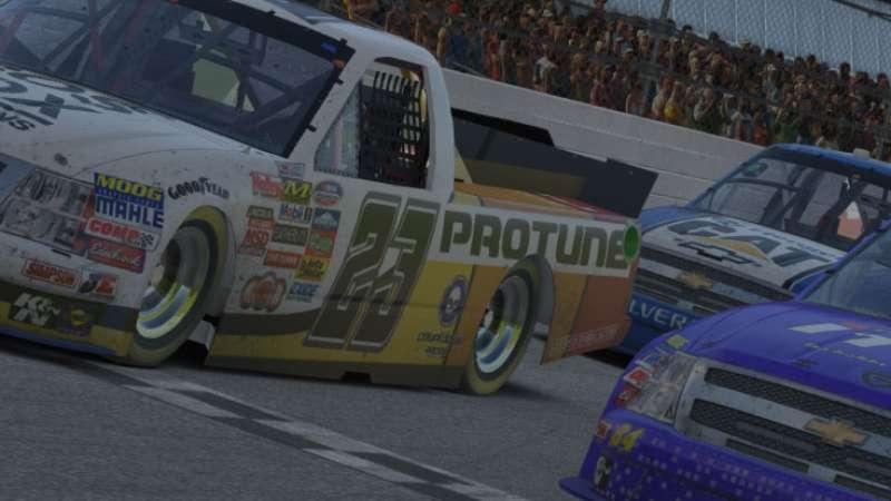 Photo finish: Alysson Pereira chega 11 milésimos a frente de Fernando Horta na Extreme Nascar Series, em Daytona - Terra