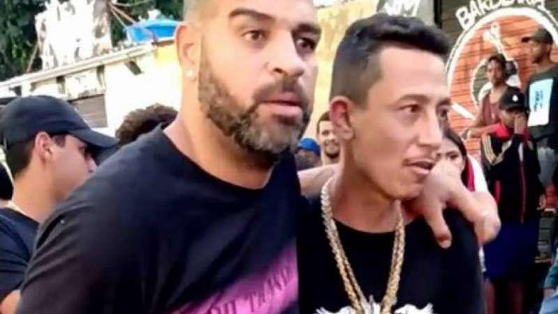 Adriano Imperador sai amparado de baile funk durante a quarentena e divide opiniões na web – Terra
