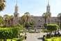 Plaza de Armas: En el centro hay una pileta de bronce con una escultura hecha de cobre de un duendecillo con una trompeta llamado Tuturú. El mito dice que representa a un soldado del siglo XVI.