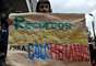 Protestas contra explotación minera en Santurbán