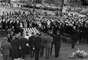 Familiares y jefes de Estado presentan sus respetos ante los restos de Kennedy, asesinado el 22 de noviembre de 1963 en Dallas, Texas.