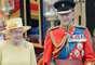 En la celebración oficial del cumpleaños 86 de la Reina Isabel II, El Duque de Edimburgo, realizó su primer aparición pública después de ser hospitalizado.