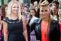 """Britney Spears y Demi Lovato brillaron durante las audiciones para la segunda temporada de """"The X Factor"""", realizadas en el Greensboro Coliseum en California."""