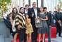 El músico estuvo acompañado de sus familiares, amigos y seguidores, así como de Leron Gubler, presidente de la Cámara de Comercio de Hollywood.