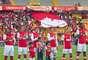 Aproximadamente 10.000 espectadores acompañaron al campeón Independiente Santa Fe.