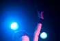 Garbage está liderado por la enigmática y atractiva cantante Shirley Manson, que posee una privilegiada voz, entre sensual, emotiva y furiosa.