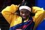 La pesista Mabel Mosquera se trajo la medalla de bronce para Colombia en los olímpicos de Atenas 2004 en la categoría de los 53 kilogramos