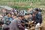 El mismo lugar se vio afectado el pasado 7 de septiembre por un terremoto que causó en ésa y otras localidades de la comarca 81 muertos y 800 heridos.