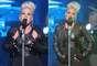 """Pink regresó luciendo bella, despampanante e irradiando mucha sensualidad como toda una """"femme fatale"""" sobre el escenario, tanto así que en un concierto en Melbourne, Australia, el cual forma parte de la gira """"Truth About Love"""", las pasiones llegaron al clímax y la estrella acarició sus """"bubis"""" y hasta se pasó una mano por su zona íntima. En el show, con el cual promociona su nuevo disco, también expuso una energía tremenda, además que se vió que está bien compenetrada con sus músicos."""
