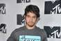 "NOVEMBER 15, 2012: ""Teen Wolf"" star, Tyler Posey, got cute for the camera at the ""Jersey Shore"" event in NYC."