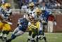 Aaron Rodgers hizo dos pases para touchdown, incluyendo uno de 22 yardas a Randall Cobb a 1:55 del final, y los Packers de Green Bay vencieron a los Lions de Detroit 24-20.