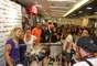 A loja ficou lotada de fãs das ex-panicats