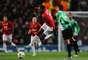 Danny Welbeck, delantero del United, también se fue en cero, debido a la buena marcación.