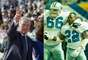 Jerry Jones compró a los Cowboys en 1989, para luego despedir al legendario entrenador Tom Landry, y nombrar a su ex compañero de la universidad Jimmy Johnson. La pareja trabajó en dos triunfos de Super Bowl, luego Jones añadió un tercero con Barry Switzer, que se convirtió en entrenador en 1996.