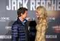 Tom Cruise and Rosamund Pike at the Jack Reacher premiere in Madrid, Spain.