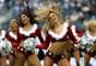 The pretty NFL cheerleaders made the holidays sexy with their Santa Claus outfits.