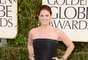 A pesar del frío, Debra Messing ya está en la alfombra roja de los Golden Globes