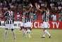 Jogadores do Atlético-MG celebram vaga conquistada na Copa São Paulo após vitória sobre o Linense