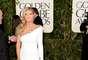 Heidi Klum llegó a los Golden Globes luciendo sus bien torneadas y bronceadas piernas