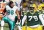 Hoy en día, 136.078-kilos son comunes en los jugadores de la NFL . Pero, ¿qué tan grandes son aquellos que se pasan de ese peso? Terra tiene la lista de los 10 más pesados.