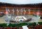 Pobre asistencia en la inauguración de la Copa Africana de Naciones 2013, en el estadio Nacional de Johanesburgo, Sudáfrica.