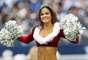 Y qué tal esta bella y navideña porrista de los Cowboys de Dallas en el juego ante los Saints de Nueva Orleans en el Cowboys Stadium, el 23 de diciembre.