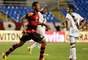 O Flamengo abriu uma diferença de 2 a 0 ainda no primeiro tempo, com gols de Hernane e Nixon