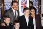 La primera familia de celebridades y atletas es probablemente los Beckham. Casado desde 1999, David y la ex Spice Girl Victoria tienen cuatro hijos: Brooklyn, Romeo, Cruz y Harper.