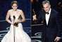 Los Oscar se destacaron este año por el homenaje que se les hizo a las películas musicales siendo los elencos de 'Chicago', 'Dreamgirls' y 'Les Miserables' los que más huella dejaron en la ceremonia. A continuación les invitamos a descubrir las reacciones de los felices ganadores.