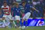 Nicolas Bertolo put Cruz Azul ahead in the 20th minute after finding a rebound in the box.