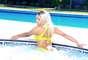 """En un momento en el que Minaj da la espalda a la cámara, quedan en un buen ángulo sus provocativas """"pompas""""."""