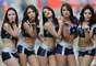 JORNADA 12: Bellas cheerleaders brillaron en el juego entre Monterrey y Pumas.