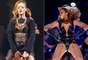 Beyoncé y Rihanna, aunque comparten roles como dos reinas de la sensualidad consagradas en la escena pop mundial, una tiene más clase, elegancia y carisma que la otra, por ello queremos que nos ayuden a definir quién de las dos es más sexy o más naca. ¡Vota!