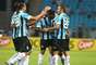Com início truncado, o Grêmio só conseguiu o gol aos 25min do primeiro tempo. Fernando cobrou falta para a área, o zagueiro do Cerâmica Alexandre tentou afastar, mas acabou marcando gol contra. O árbitro, no entanto, deu o gol para o volante gremista