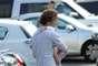 A primera hora de la jornada, pudimos ver a el de Almería llevando a su pequeña a la guardería.