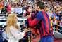 Las carantoñas de Piqué con Shakira y su hijo Milan
