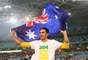 Australia en el lugar 53, ocupa un lugar entre los peores equipos en el ranking en calificar al Mundial de Brasil, es uno de los que ya tiene boleto al Mundial.