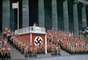Al final de la guerra, Jaeger quemó los negativos ante el temor de ser arrestado debido a su amistad con Hitler. En los años 70 Jaeger vendió las fotografías impresas que habrían sobrevivido a la revista LIFE. La publicación acompañó las instantáneas con el siguiente mensaje: Usualmente no le damos tanto espacio al trabajo de hombres que admiramos tan poco. En esta fotografía, el jefe de propaganda Joseph Goebbles da un discurso en Berlín.