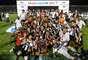 Jogadores do Atlético-MG vibram com conquista do Campeonato Mineiro