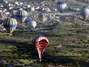 Accidente de globo en Turqua Foto: AFP