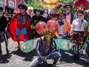 Heróis dos quadrinhos tomam conta do Alto da Sé em Olinda. Foto: Jan Ribeiro