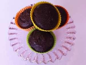 Muffins de chocolate Foto: Dieta Dukan Brasil / Divulgação