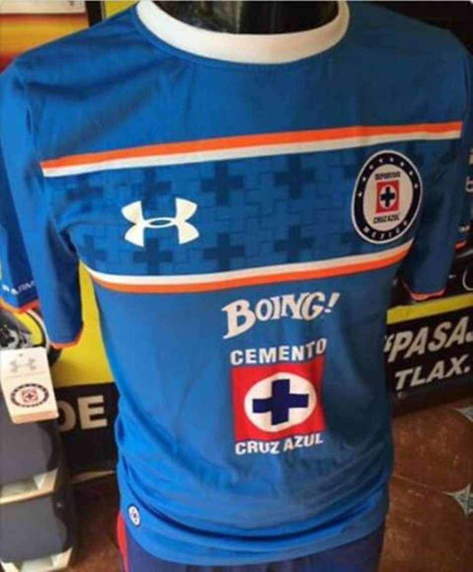 Conexión Media  Filtran nueva playera de Cruz Azul para el Apertura 2015 5689d560295bf