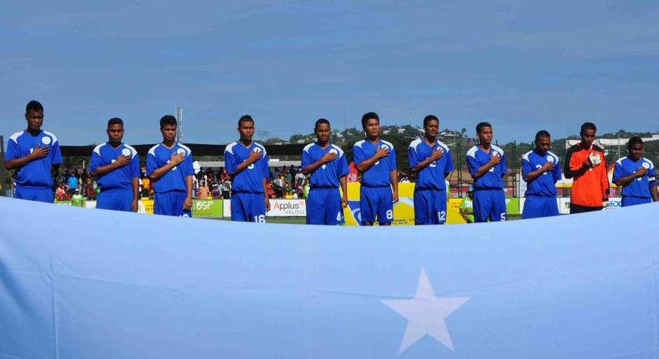 Após 46 a 0, Micronésia deixa torneio com 114 gols sofridos Micronesiabandeiratwitter