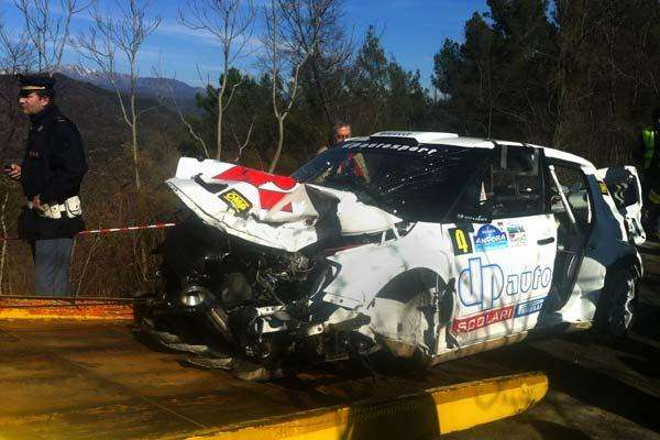 Fotos Grave accidente de Kubica en un rally