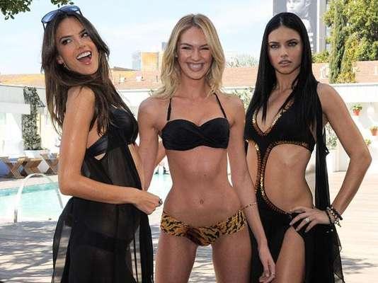 Las modelos de Victoria's Secret 'presumen' sus escuálidas figuras, junto con la línea de trajes de baño. Lo que sorprende al mundo es que cada vez están más delgadas. Victoria's Secret ha sido atacada constantemente por contratar chicas muy delgadas, en lugar de con curvas como utilizaba en sus inicios.