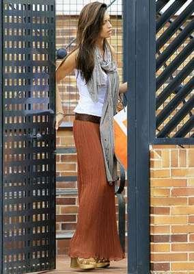 Sara abandonaba por la mañana el chalet de Boadilla del Monte donde convive con Iker para dirigirse a los estudios de Telecinco.